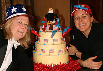 Kazoo Cake Creators, barbara and Chef Whitney